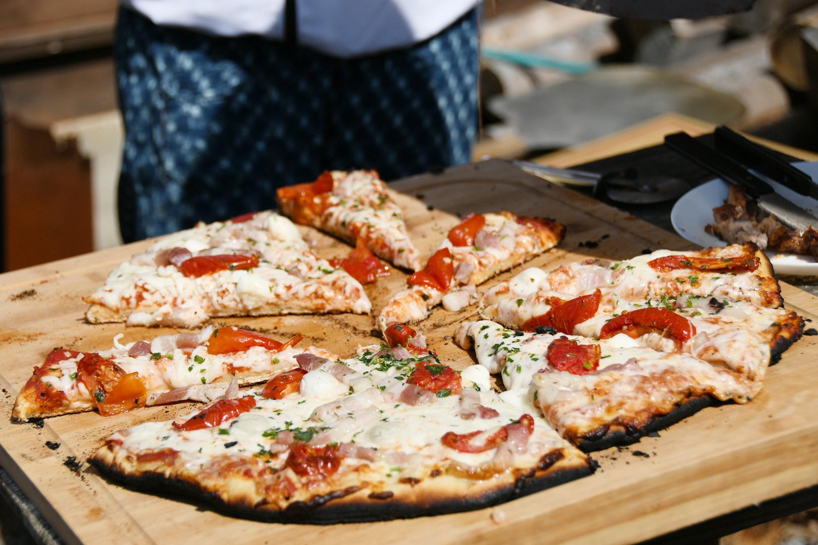 焼きたてピザが最高でした♪