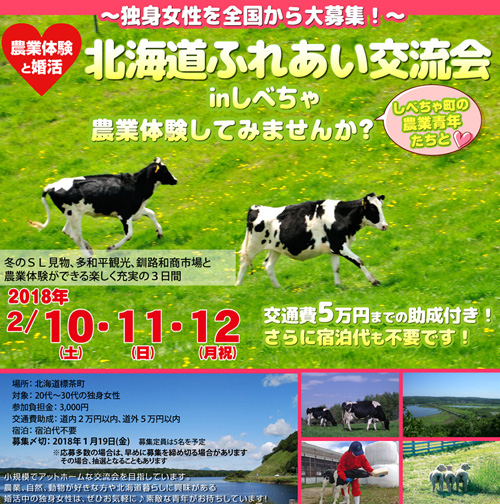 北海道の婚活・北海道ふれあい交流会2018